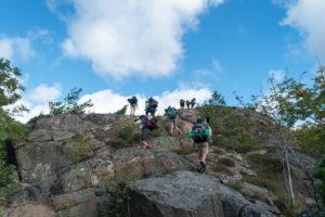 Unterwegs über den schwedischen Schären